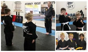 Taekwondo for children ages 4 and older