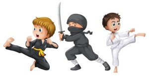 Ninja camp for children in Dallas, Oregon